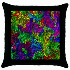 Liquid Plastic Throw Pillow Cases (black) by ImpressiveMoments