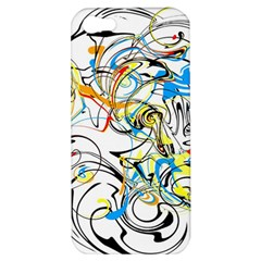 Abstract Fun Design Apple Iphone 5 Hardshell Case by digitaldivadesigns