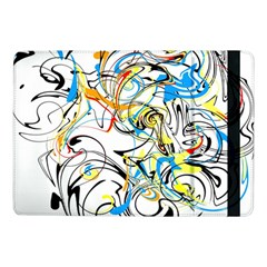 Abstract Fun Design Samsung Galaxy Tab Pro 10 1  Flip Case by digitaldivadesigns
