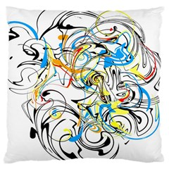 Abstract Fun Design Standard Flano Cushion Cases (one Side)  by digitaldivadesigns