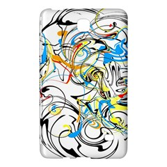 Abstract Fun Design Samsung Galaxy Tab 4 (8 ) Hardshell Case  by theunrulyartist