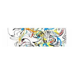 Abstract Fun Design Satin Scarf (oblong) by theunrulyartist