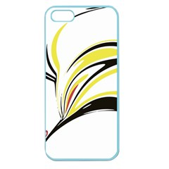 Abstract Flower Design Apple Seamless Iphone 5 Case (color) by digitaldivadesigns