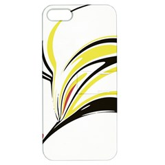 Abstract Flower Design Apple Iphone 5 Hardshell Case With Stand by theunrulyartist