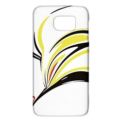 Abstract Flower Design Galaxy S6 by theunrulyartist