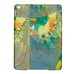 Abstract Flower Design In Turquoise And Yellows Ipad Air 2 Hardshell Cases by theunrulyartist