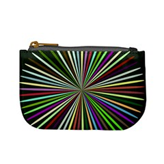 Colorful Rays Mini Coin Purse by LalyLauraFLM