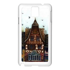 Rooftop Verticle 01 Samsung Galaxy Note 3 N9005 Case (white)