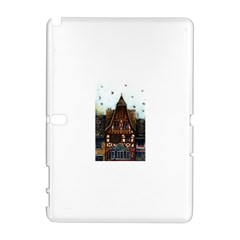 Rooftop Verticle 01 Samsung Galaxy Note 10 1 (p600) Hardshell Case by SHERRAE