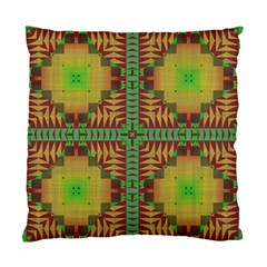 Tribal Shapes Pattern Standard Cushion Case (two Sides)