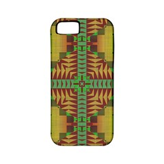 Tribal Shapes Pattern Apple Iphone 5 Classic Hardshell Case (pc+silicone) by LalyLauraFLM