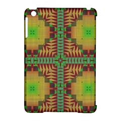 Tribal Shapes Pattern Apple Ipad Mini Hardshell Case (compatible With Smart Cover) by LalyLauraFLM