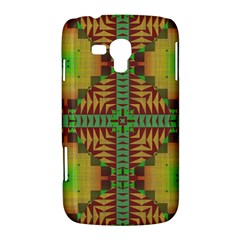 Tribal shapes pattern Samsung Galaxy Duos I8262 Hardshell Case  by LalyLauraFLM