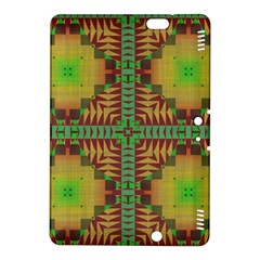 Tribal shapes pattern	Kindle Fire HDX 8.9  Hardshell Case by LalyLauraFLM