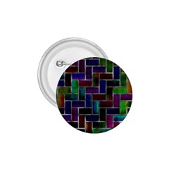 Colorful Rectangles Pattern 1 75  Button by LalyLauraFLM