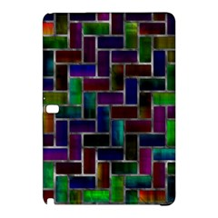 Colorful rectangles patternSamsung Galaxy Tab Pro 10.1 Hardshell Case by LalyLauraFLM