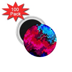 Psychedelic Storm 1 75  Magnets (100 Pack)  by KirstenStar