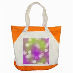 Modern Bokeh 7 Accent Tote Bag  by ImpressiveMoments