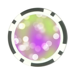 Modern Bokeh 7 Poker Chip Card Guards (10 pack)  by ImpressiveMoments