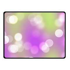 Modern Bokeh 7 Double Sided Fleece Blanket (small)