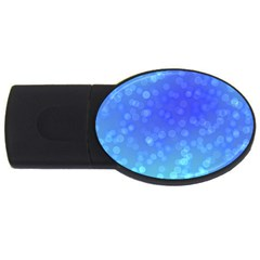 Modern Bokeh 8 USB Flash Drive Oval (1 GB)  by ImpressiveMoments