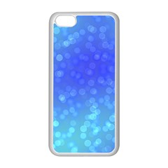 Modern Bokeh 8 Apple Iphone 5c Seamless Case (white) by ImpressiveMoments