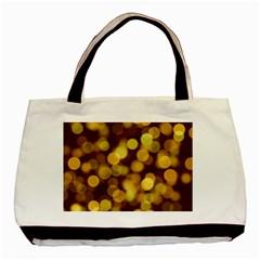 Modern Bokeh 9 Basic Tote Bag (two Sides)  by ImpressiveMoments