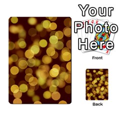 Modern Bokeh 9 Multi Purpose Cards (rectangle)  by ImpressiveMoments