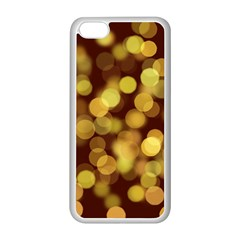 Modern Bokeh 9 Apple Iphone 5c Seamless Case (white) by ImpressiveMoments