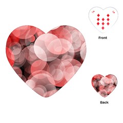 Modern Bokeh 10 Playing Cards (heart)  by ImpressiveMoments