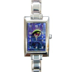 Waterfall Tears Rectangle Italian Charm Watches by icarusismartdesigns
