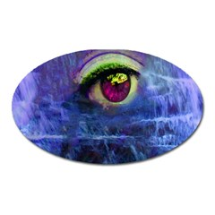 Waterfall Tears Oval Magnet by icarusismartdesigns