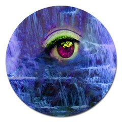 Waterfall Tears Magnet 5  (round) by icarusismartdesigns