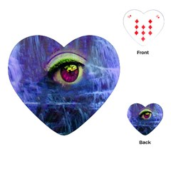 Waterfall Tears Playing Cards (heart)  by icarusismartdesigns