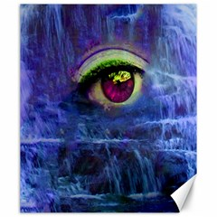 Waterfall Tears Canvas 20  X 24   by icarusismartdesigns