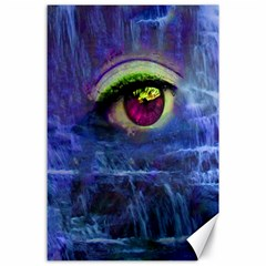 Waterfall Tears Canvas 24  X 36  by icarusismartdesigns