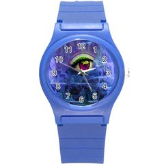 Waterfall Tears Round Plastic Sport Watch (s) by icarusismartdesigns