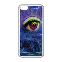 Waterfall Tears Apple Iphone 5c Seamless Case (white) by icarusismartdesigns