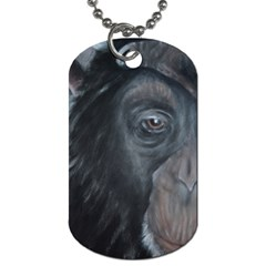 Humans Dog Tag (two Sides) by timelessartoncanvas