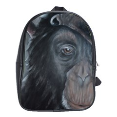 Humans School Bags (XL)  by timelessartoncanvas