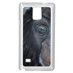 Humans Samsung Galaxy Note 4 Case (white) by timelessartoncanvas