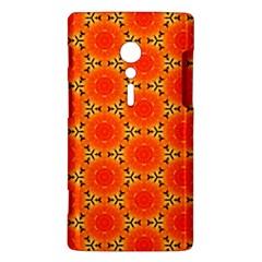 Cute Pretty Elegant Pattern Sony Xperia ion by creativemom