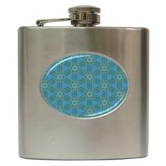 Cute Pretty Elegant Pattern Hip Flask (6 Oz)