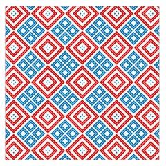 Cute Pretty Elegant Pattern Large Satin Scarf (square) by creativemom