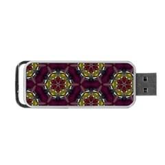 Cute Pretty Elegant Pattern Portable Usb Flash (one Side) by creativemom