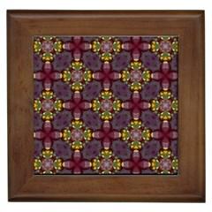 Cute Pretty Elegant Pattern Framed Tiles by creativemom