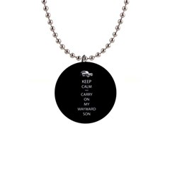 Carry On Centered Button Necklaces by TheFandomWard