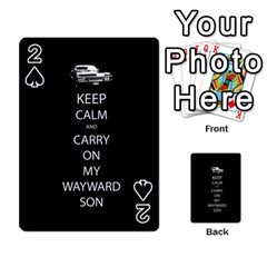 Carry On Centered Playing Cards 54 Designs