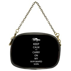 Keep Calm And Carry On My Wayward Son Chain Purse (one Side) by TheFandomWard