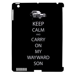 Keep Calm And Carry On My Wayward Son Apple Ipad 3/4 Hardshell Case (compatible With Smart Cover) by TheFandomWard